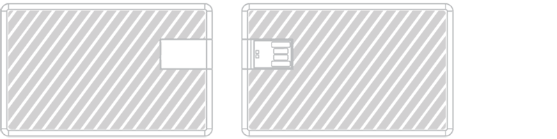 USB卡片手指 激光雕刻