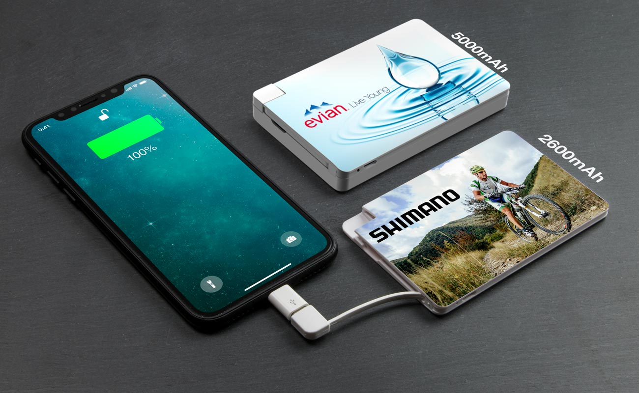 Card - Power Bank Branded