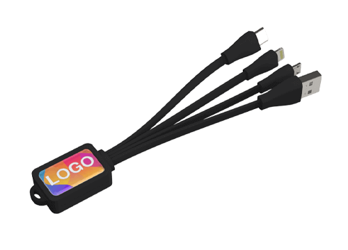 Multi - 銘刻八達通充電USB線組
