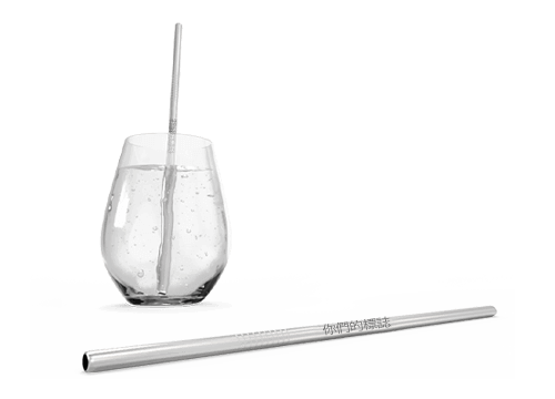 Straight - 個性化金屬吸管