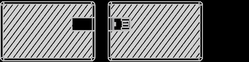 USB卡片手指 網版印刷