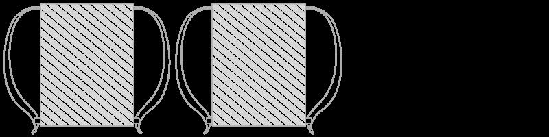抽繩袋 相片印刷