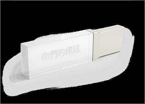 Crystal - 玻璃USB記憶棒